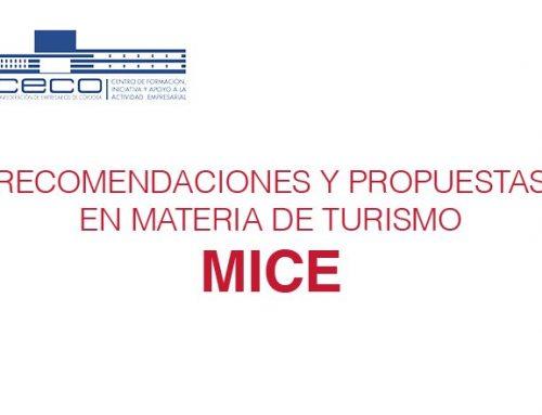 Recomendaciones y propuestas en materia de turismo MICE para la ciudad y la provincia de Córdoba